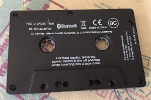 Bluetooth Tape Back