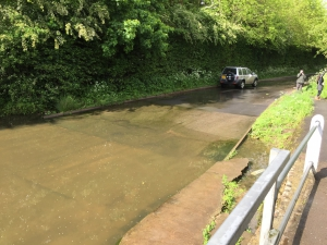 Watery Gate Lane ford