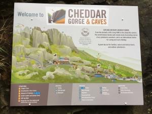 Cheddar Gorge Map