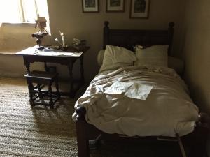Isaac Newton's bedroom