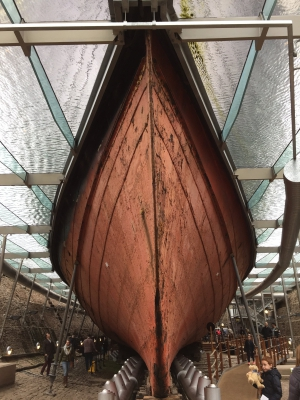 The hull of  the SS Great Britain